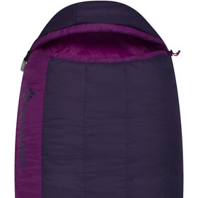 Sea to Summit Quest QuII Sacos de dormir Largo Mujer, blackberry/grape